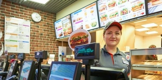 What are the job responsibilities of fast food cashier?