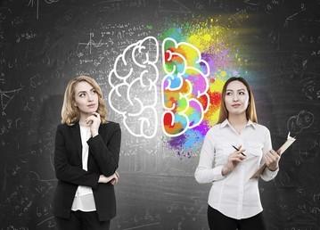 dominant in one hemisphere